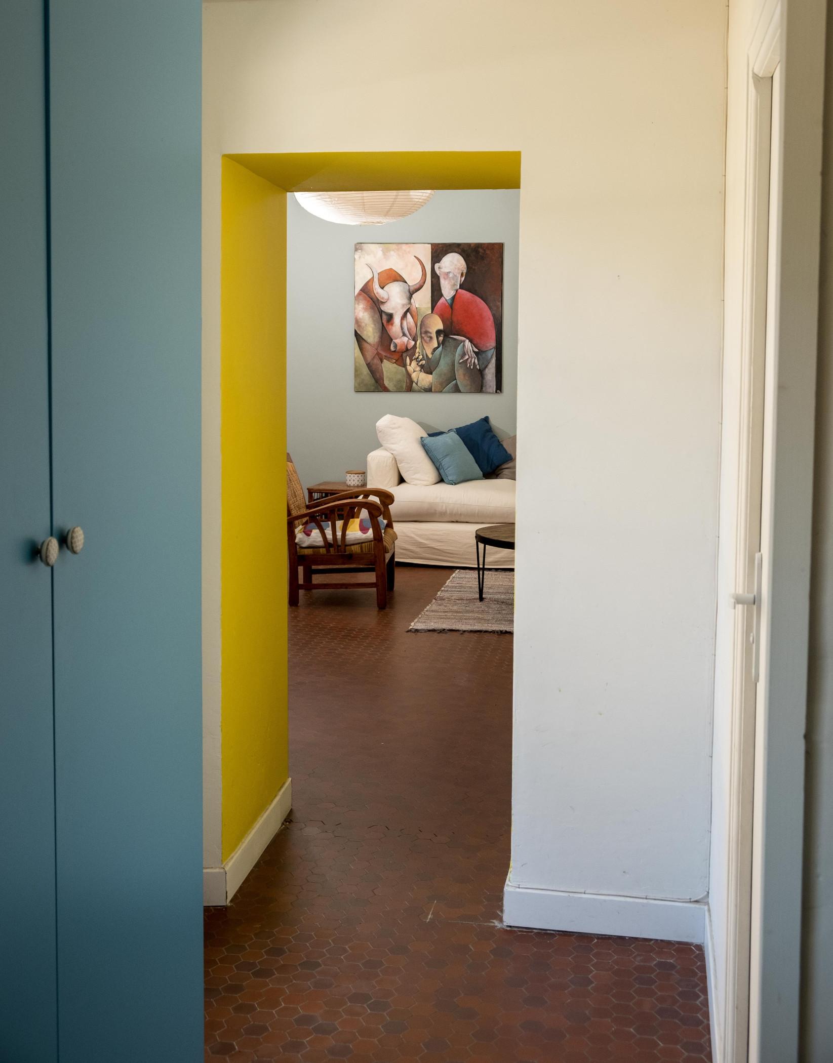 Harmonie Des Couleurs Dans Une Maison couleurs dans une maison à saint-laurent de la mer - hélène