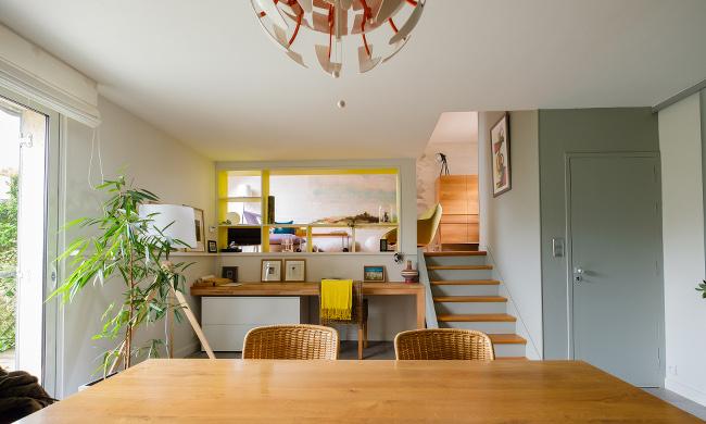 r alisations d coration int rieure coloriste h l ne m ar rennes. Black Bedroom Furniture Sets. Home Design Ideas